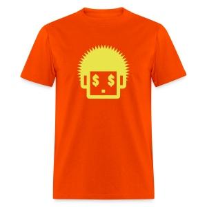 Afro Tee  - Yellow  for Men - Men's T-Shirt