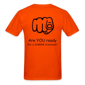 I Believe in ZOMBIES/ Are YOU ready? t-shirt - Men's T-Shirt