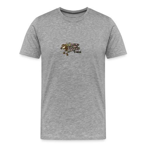 WGJ4K logo + Link Mickey - Men's Premium T-Shirt