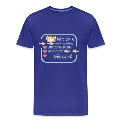 Models to Geek - Men's Premium T-Shirt