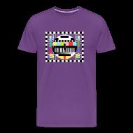 T-Shirts ~ Men's Premium T-Shirt ~ TV PATTERN T-Shirt - Sheldon Cooper T-Shirt Deluxe