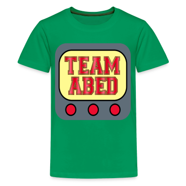 Community Team Abed Kids' Shirts