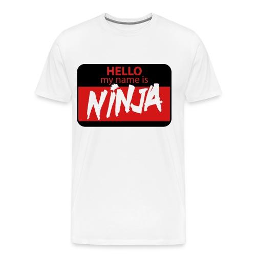 Hello - Men's Premium T-Shirt