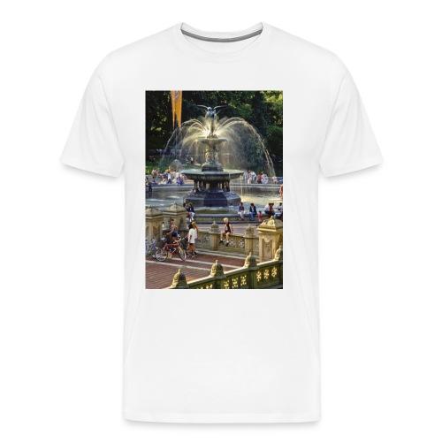 Bethesda Fountain NYC - Men's Premium T-Shirt