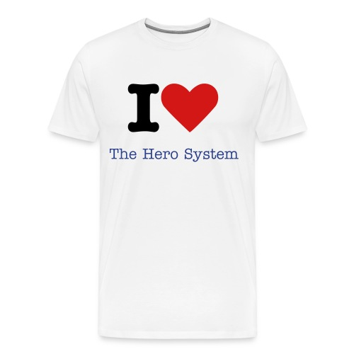 Hero System - Men's Premium T-Shirt