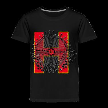 H Name Shirt Design