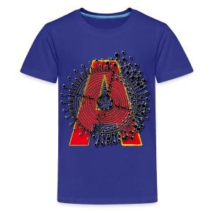 A Initial ABC Shirt - Name - Letter Fashion Design - Birthday - Gift - Kids' Premium T-Shirt