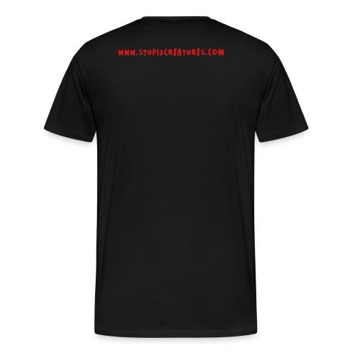 Stupid Creatures Red Logo for Men - Men's Premium T-Shirt