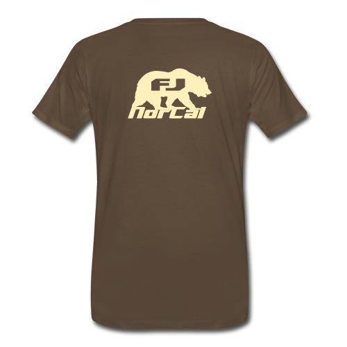Check for Bulges -  Cream - Men's Premium T-Shirt