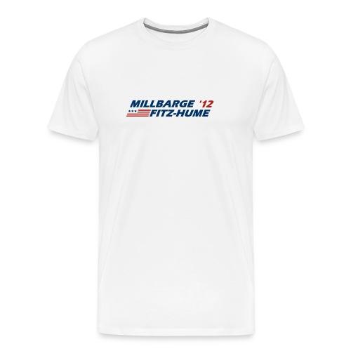 Millbarge - Fitz-Hume 2012 - Men's Premium T-Shirt