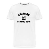 T-Shirts ~ Men's Premium T-Shirt ~ Drinking Team Mens Tshirt White
