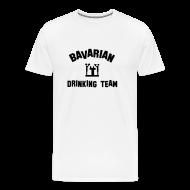 T-Shirts ~ Men's Premium T-Shirt ~ Drinking Team Mens Tshirt White