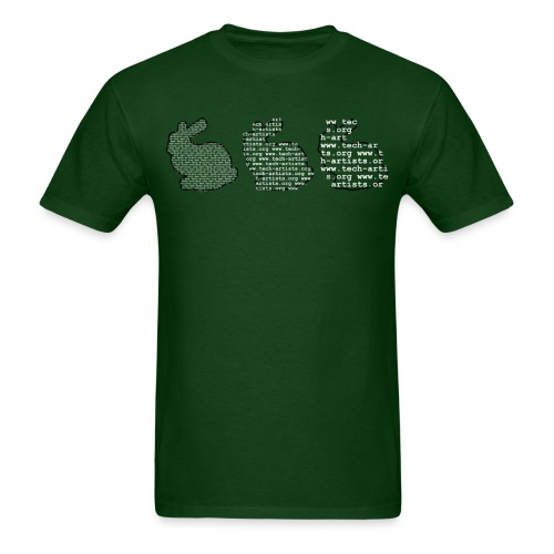 Heavyweight Stanford Bunny LoD Tee (any color) - Men's T-Shirt