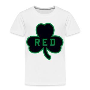 Red Shamrock Toddler T-Shirt - Toddler Premium T-Shirt