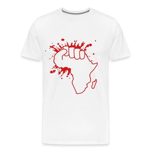 African Power Fist - Men's Premium T-Shirt