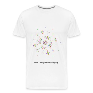 Modifed E6 - Fermion and Boson Rings - Men's Premium T-Shirt