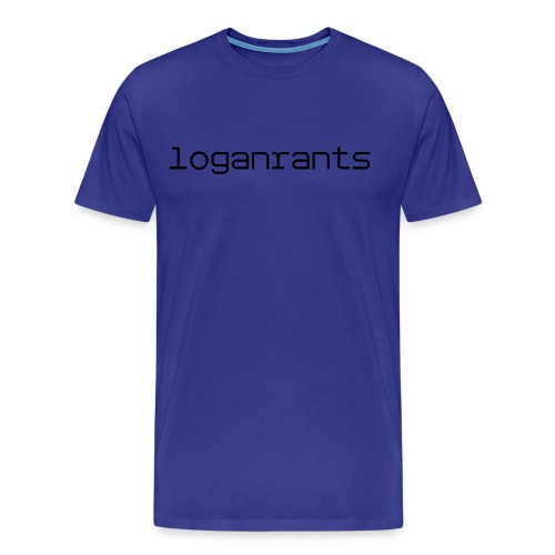 LoganRants - T-Shirt (Blue) - Men's Premium T-Shirt