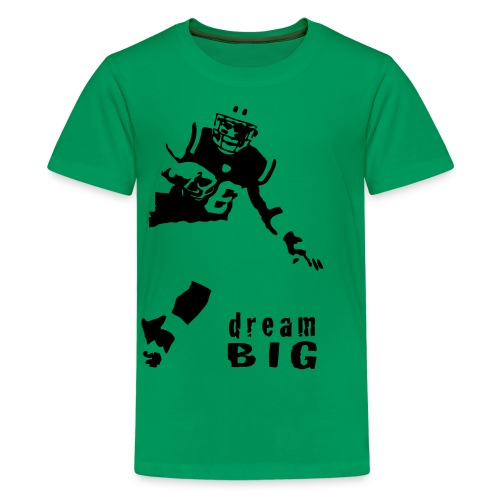 Children's Jim Leonhard Dream Big T-Shirt - Kids' Premium T-Shirt