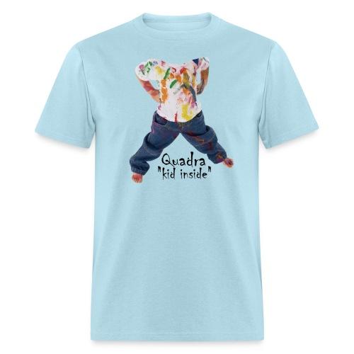 Quadra, kid inside - T-shirt pour hommes