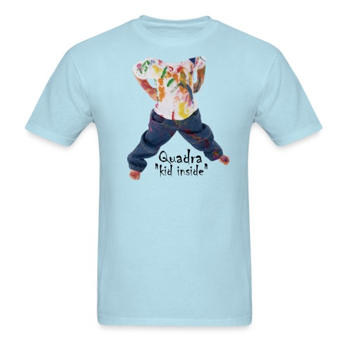 Quadra, kid inside - Men's T-Shirt