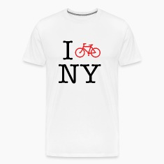 I Bike New York T-shirt