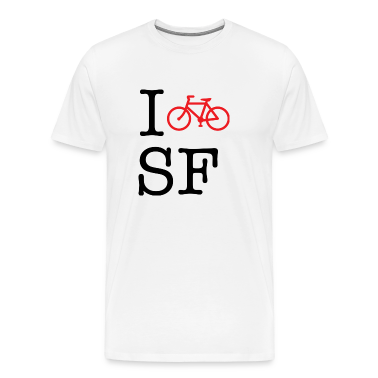 I Bike San Francisco T-shirt