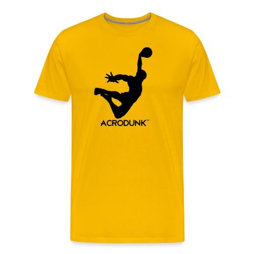 ACRODUNK black logo tee - Men's Premium T-Shirt