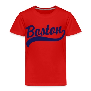 Boston Casey Script Toddler T-Shirt - Toddler Premium T-Shirt