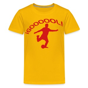 Goool gold - Kids' Premium T-Shirt