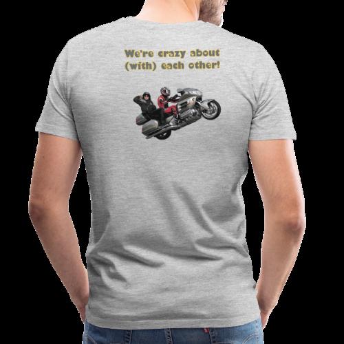 Men's Premium T Back WWheelie crazy - Men's Premium T-Shirt