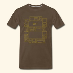 8-Bit-Hardware - Men's Premium T-Shirt