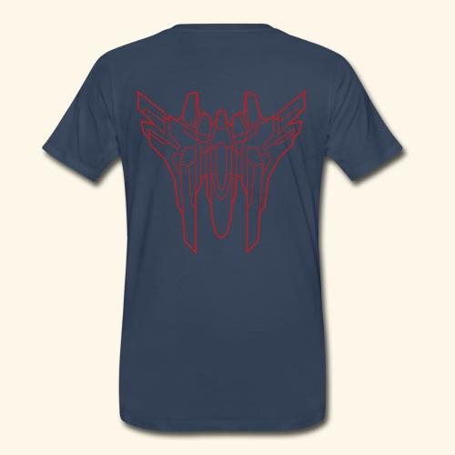 RVA-818 X-LAY (front- and backprint) - Men's Premium T-Shirt
