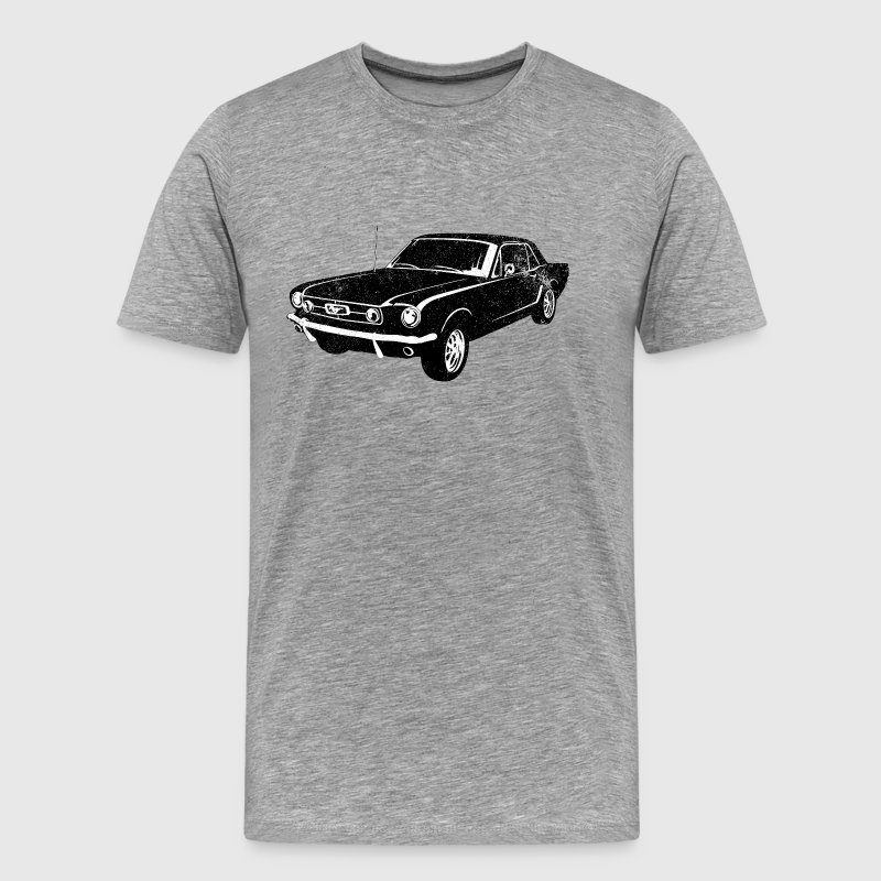 Ladies Size Ford Mustang Design T Shirt Tee Shirt Pony Tri: 1965 Ford Mustang Coupe T-Shirt