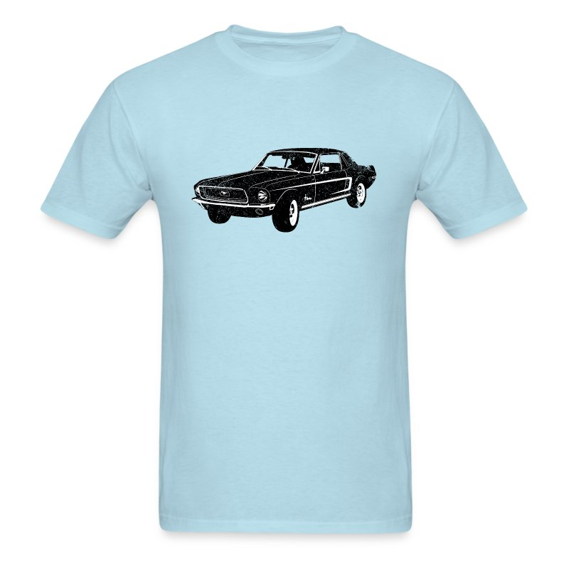 Ladies Size Ford Mustang Design T Shirt Tee Shirt Pony Tri: 1968 Ford Mustang Coupe T-Shirt