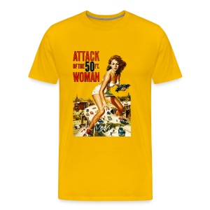 Attack of the 50ft. Woman - Men's Premium T-Shirt
