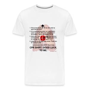 CPR Shirt #2 - Men's Premium T-Shirt