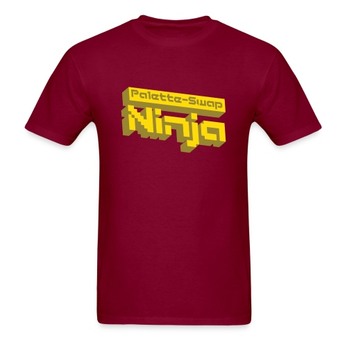 Palette-Swap Ninja - Logo Yellow - Men's T-Shirt