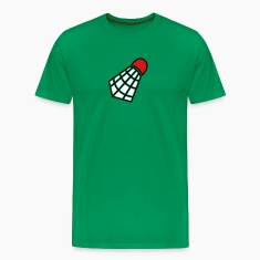Kelly green shuttlecock for badmington T-Shirts