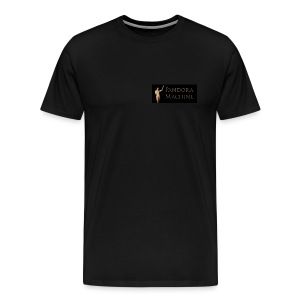 Pandora Machine Black T-shirt - Men's Premium T-Shirt