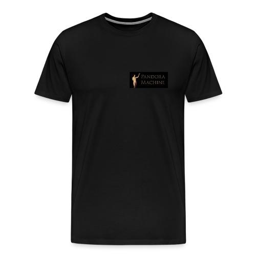 Pandora Machine Black T-shirt - Men's Premium T-Shirt