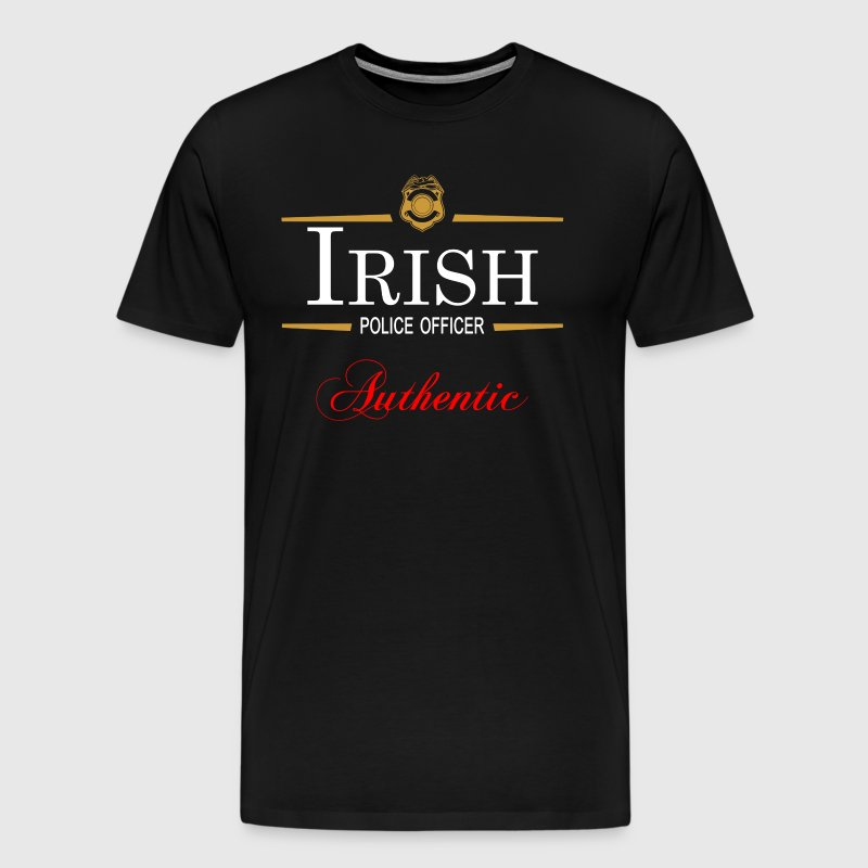 Irish Police: Authentic Irish Police Officer T-Shirt