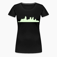 Black atlanta_skyline Plus Size