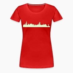 Red chicago_skyline Plus Size
