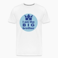 White I am the big Brother T-Shirts