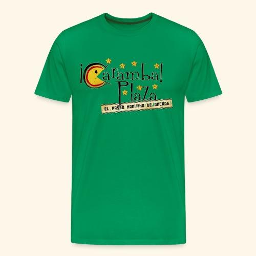 Fictional Arcades: Caramba Plaza (Vintage Print) - Men's Premium T-Shirt