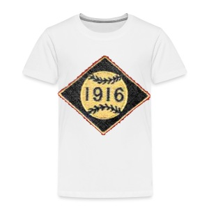 Boston 1916 Patch Toddler T-Shirt - Toddler Premium T-Shirt
