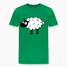 Kelly green Sheep T-Shirts