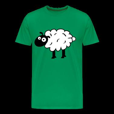 Kelly green Sheep T-Shirts