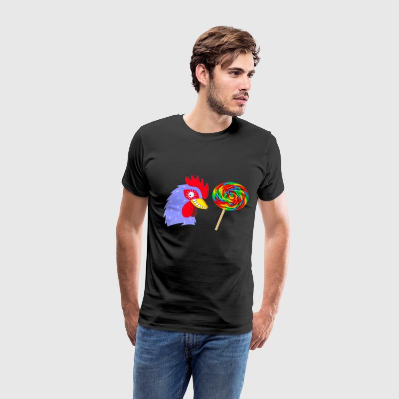 Black Cock Sucker T-Shirts - Men's Premium T-Shirt