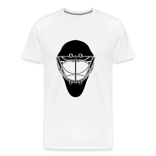 Men's Goalie Mask T - Men's Premium T-Shirt